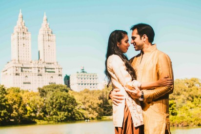 Engagement Shoot in Central Park by Denee Motion