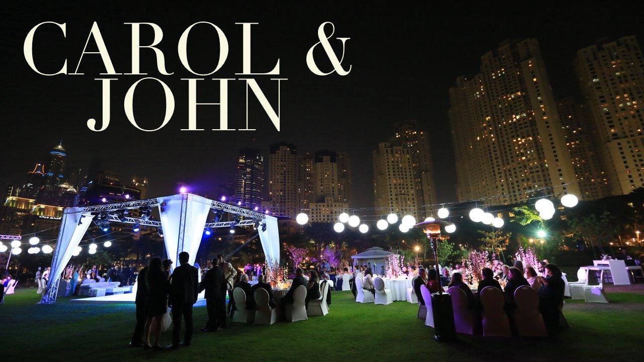 Carol & John – Ritz-Carlton Dubai Wedding