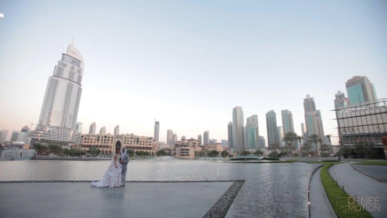 Armani Hotel Dubai Wedding