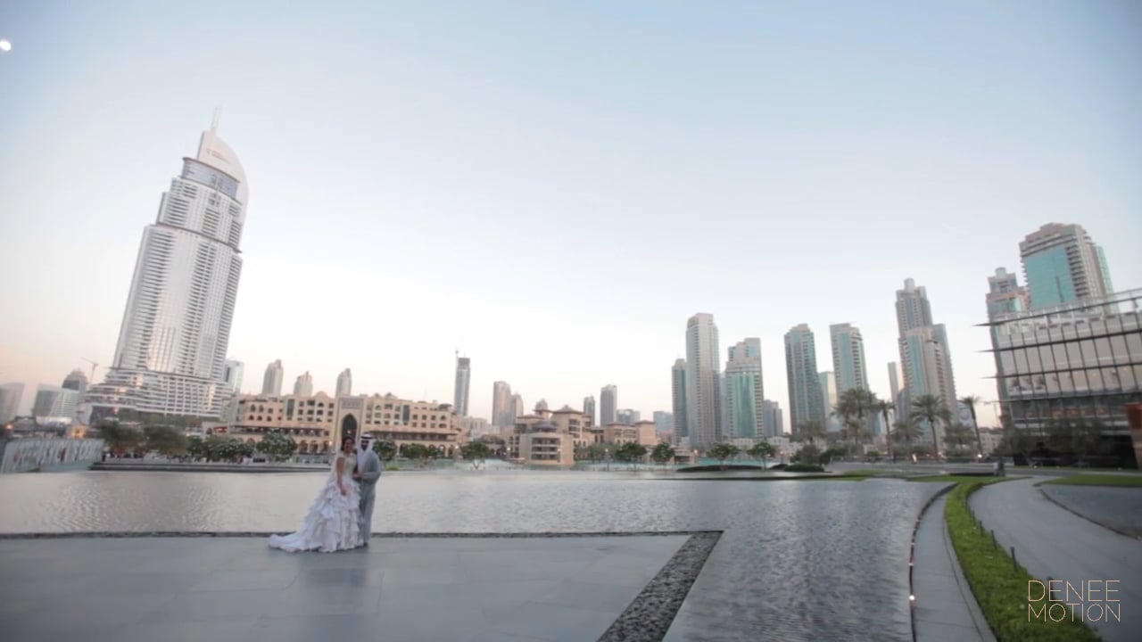 Noor sari armani hotel dubai wedding video for Armani dubai